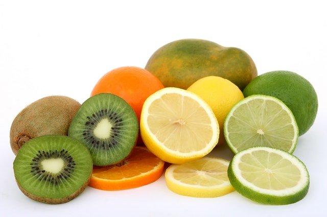 A spread of citrus fruits: oranges, lime, lemons