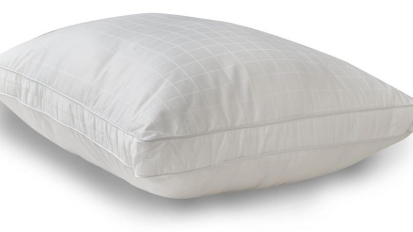 Flat and Firm Pillow Perfect for Right or Left Side Sleepers