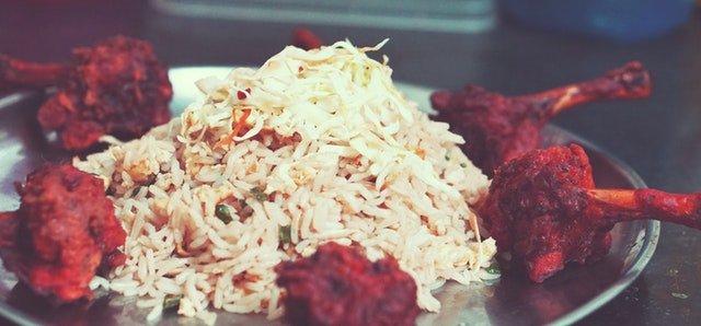 Chicken Tikka with brown rice