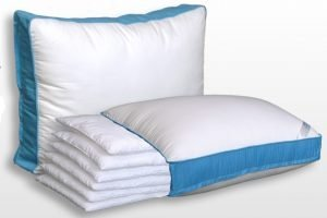 A White Pillow Suitable for Stomach Sleepers