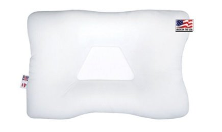 White Cervical Pillow for Alleviating Neck Pain