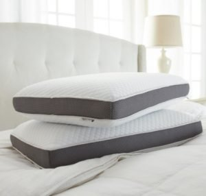 Two sets of cooling pillows with cover