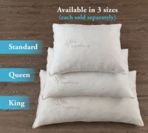 Standard, Queen and King Size Xtreme Comforts Pillow Set