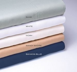Wide choice of colors for cooling bamboo bed sheets