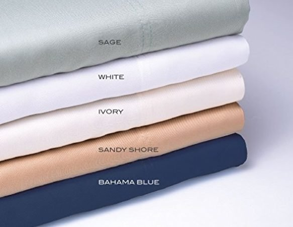 Wide choice of colors for cooling bed sheets