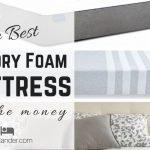 Best Memory Foam Mattress To Buy Online