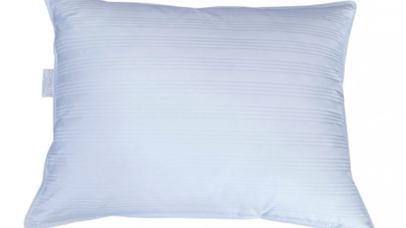 Super soft down pillow for stomach sleepers
