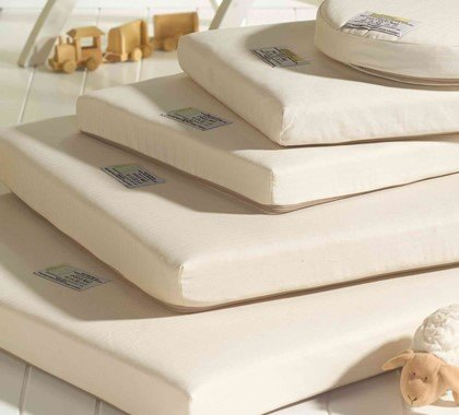 A Range Of Crib Mattresses In Various Shapes And Sizes For Newborns Babies Toddlers