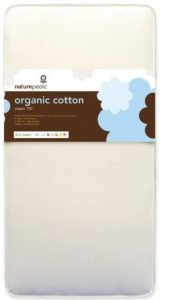 Heavy-duty innerspring Organic cotton and waterproof crib mattress