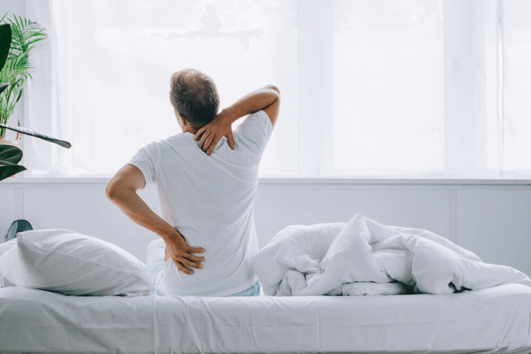 The best sleep position may be slightly different for each person but to avoid back and neck pain.
