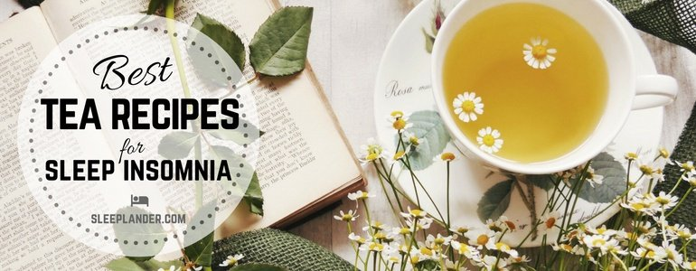 Bedtime Drinks for Sleep Herbal Leaves and Flowers