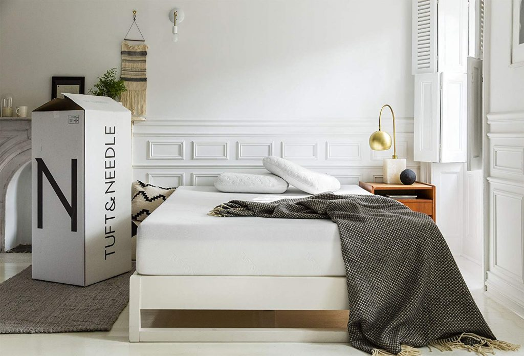 Vacuum Packed Mattress from Tuft and Needle