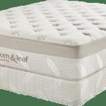 An ultra luxury comfortable organic 5 lb memory foam mattress
