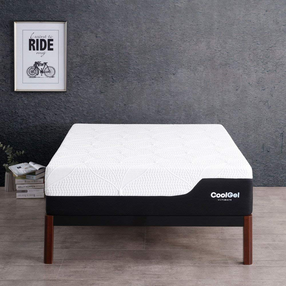 Cheap but quality mattress reduces pressure points between shoulders, neck and back
