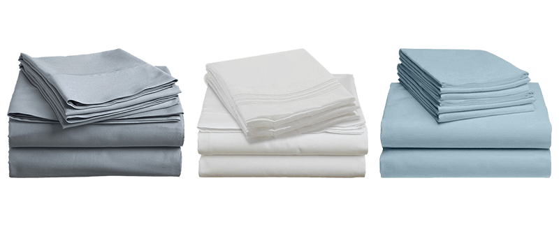 A choice of neutral colors flannel sheet sets