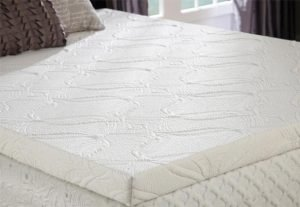 Gel Memory Foam Topper with Cotton Cover