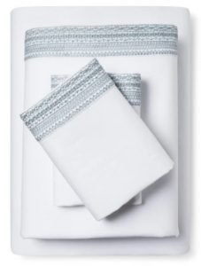 Crisp Linen Bedding Sheet Set from Target