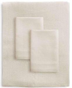 Ivory Linen Bed Set