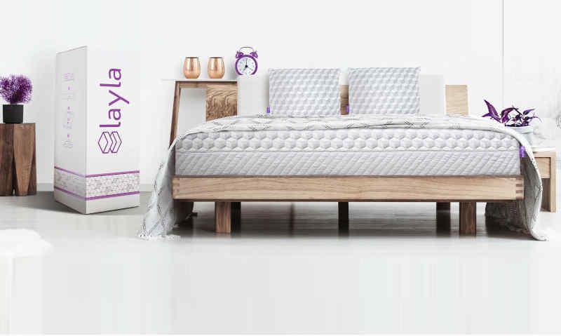 Copper-infused memory foam mattress