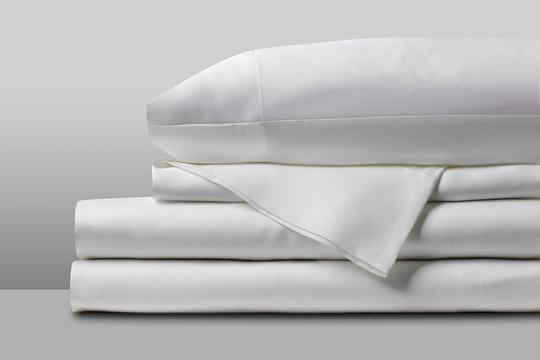 Solid White Bamboo Hotel Sheets