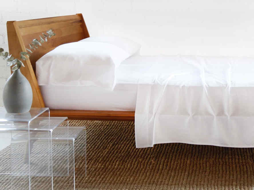 BAMBOO SHEET + PILLOWCASES - WHITE