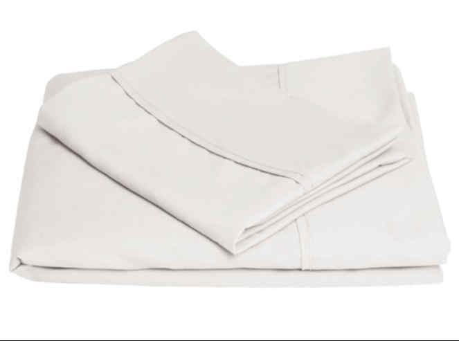 White Microfiber Sheets