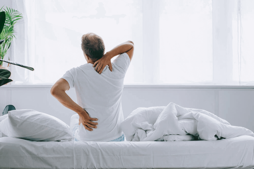 Lower back pain from sleeping on a hard or soft mattress - a topper is the solution.