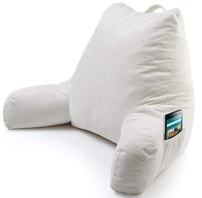 which is the best bed rest pillow with arms
