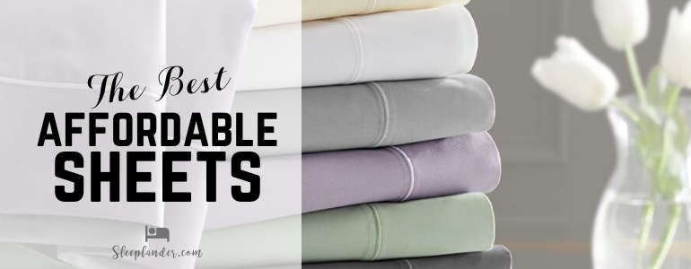 Sheets in a variety of colors and materials