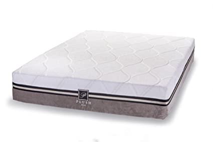 Plushy memory foam mattress best for sciatica