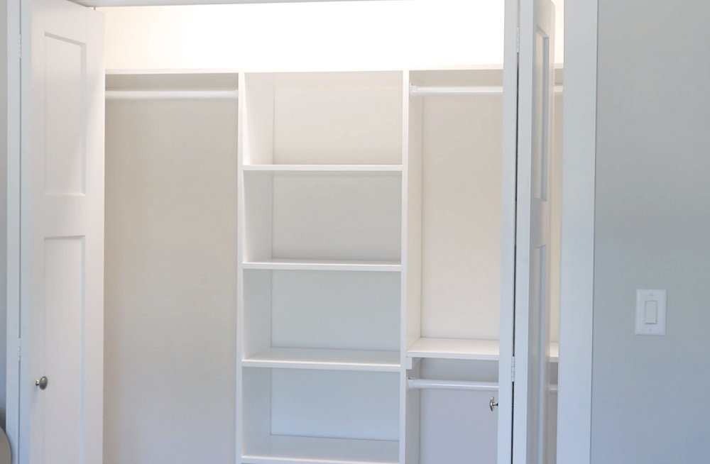 How To Build Your Own Closet Tutorial