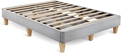 Easy-to-assemble platform bed foundation