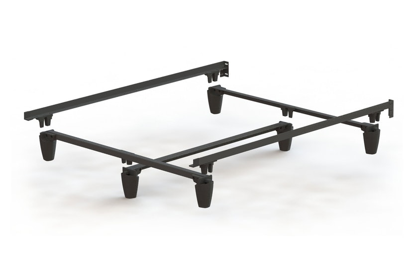 Noise free metal bed frame