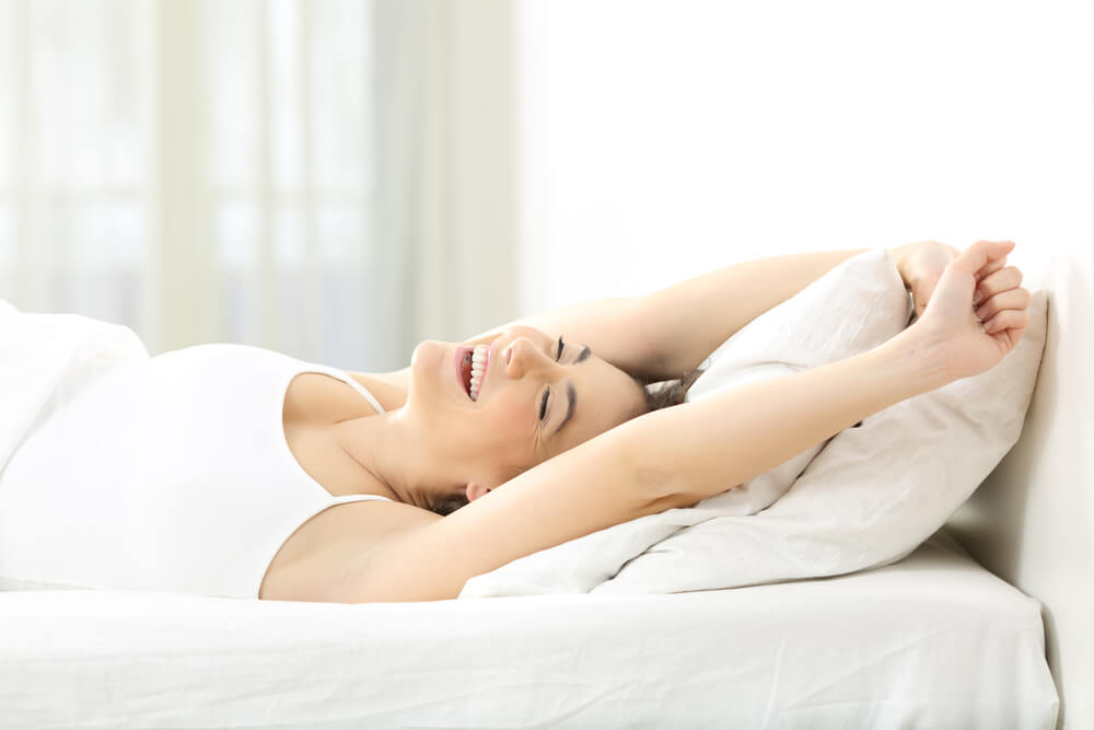 Sleeping Comfortable and Waking Up Refreshed