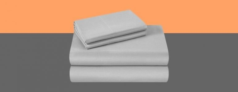 Cooling Microfiber sheet set grey