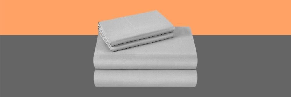 Cooling Microfiber sheet set grey