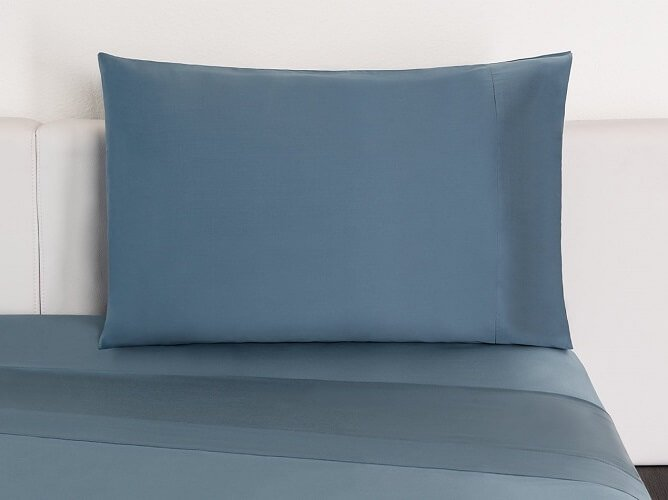 Silky tencel sheets in color stone