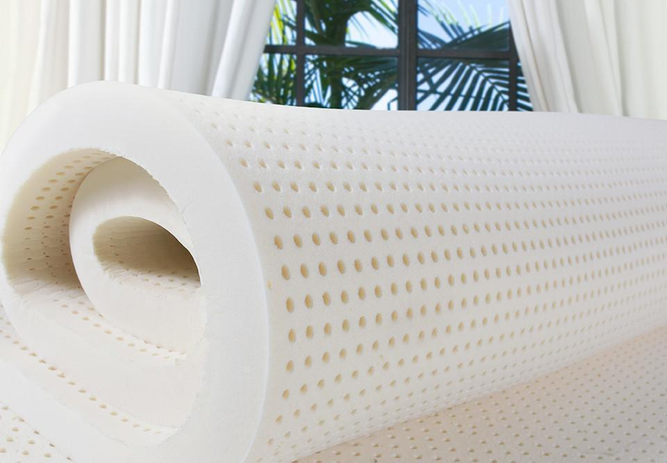 The PlushBeds 100% Natural Talalay Latex Topper