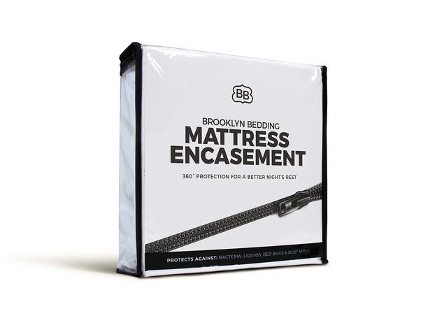 The Complete Coverage Mattress Encasement by Brooklyn Bedding