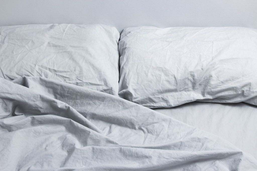 How to get rid of coconut oil stains from bed sheets