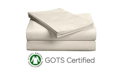 PlushBeds Organic Cotton Sateen sheets