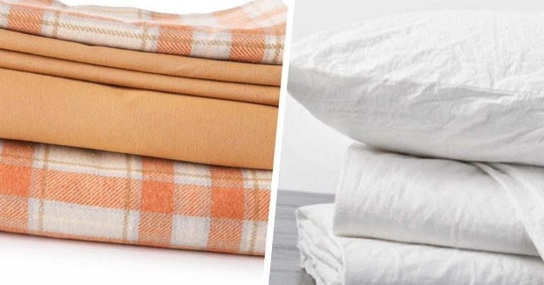 Flannel vs Percale Sheets